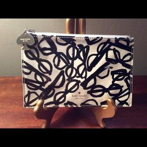 Vintage authentic Kate Spade zippered pouch